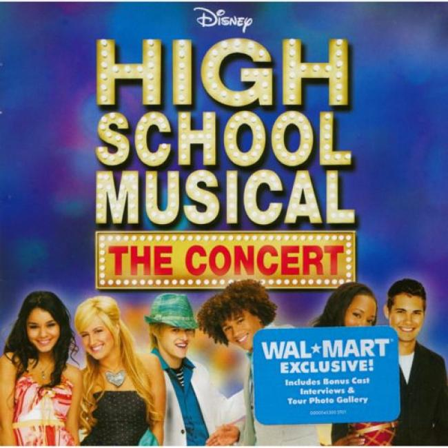 High School Musical: The Concert Soundtrack (wal-mart Exclusive) (includes Dvd)