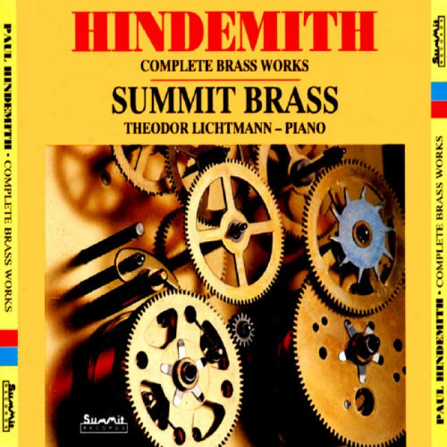 Hindemith: C0mplete Brass Works (2 Disc Box Set)