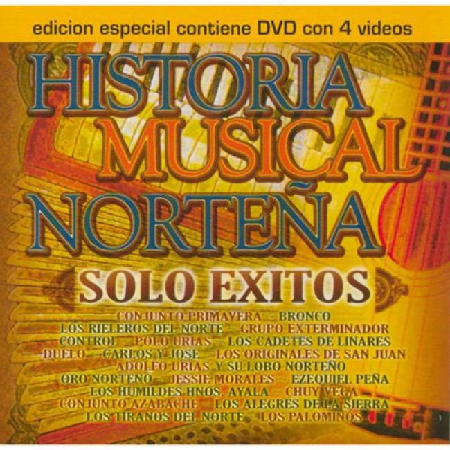 Historia Musical Nortena: Solo Exitos (includes Dvd)