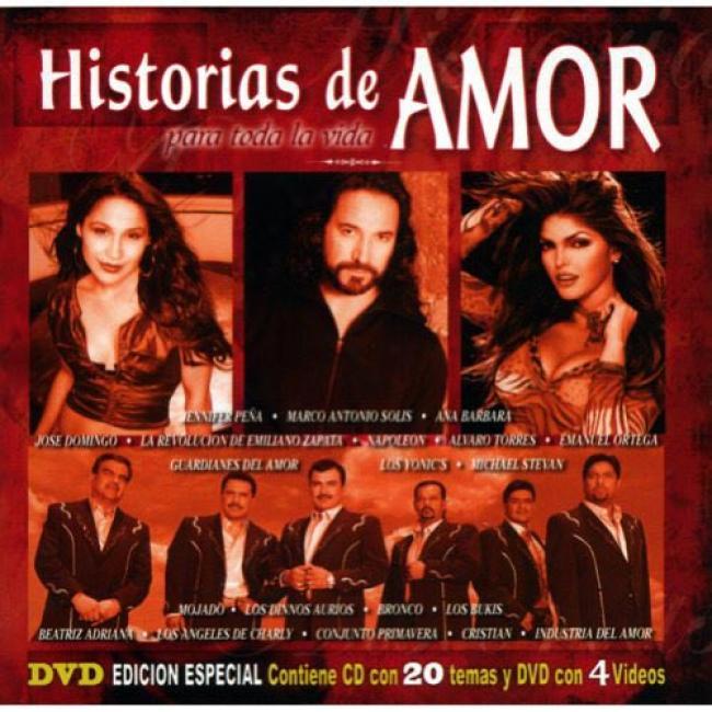 Historias De Amor: Para Toda La Vida (includes Dvd)