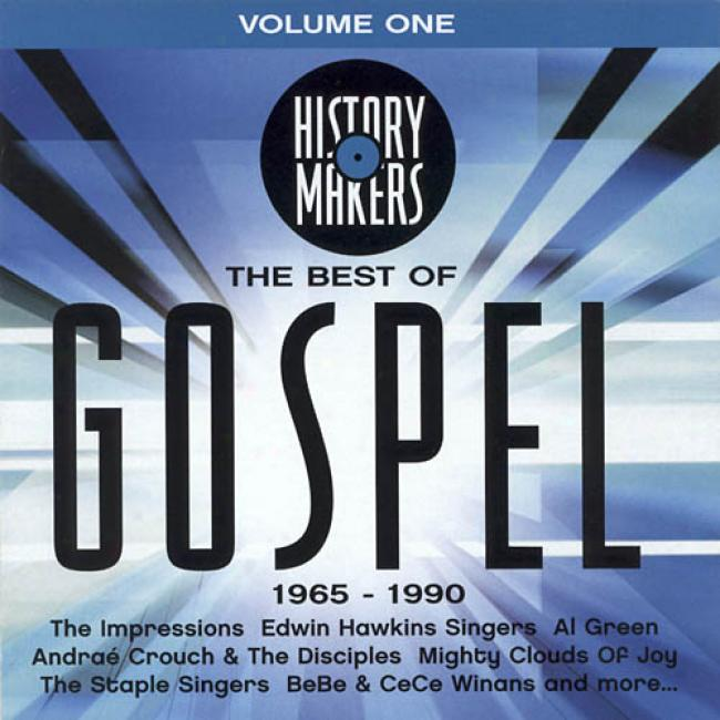History Makers: The Beqt Of Gospel, Vol.1 1965-1990
