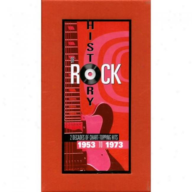 History Of Rock: 2 Decades Of Chart-topping Hits 1953 To 1973 (10 Disc Box Set)
