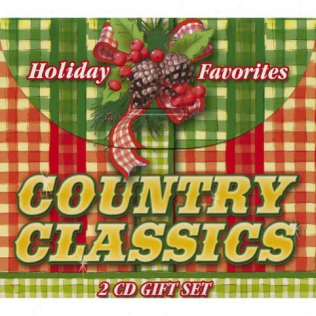 Holiday Favorites: Country Classics (cd Slipcase)