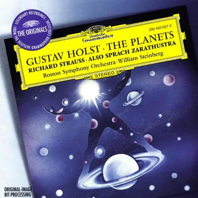 Holst: The Planets/r.strauss: Also Sprach Zarathustra