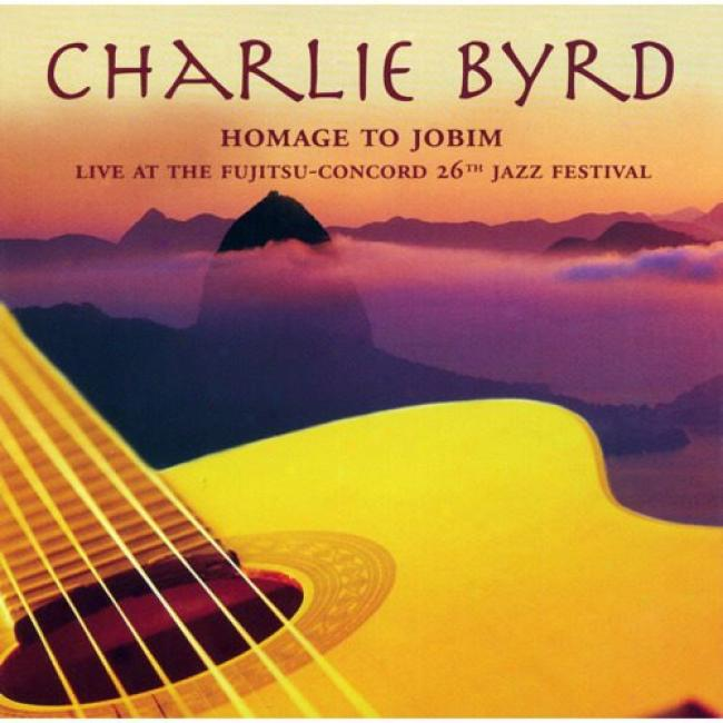 Homate To Jobim: Live At The Fujitsu-concord 26th Jazz Festival