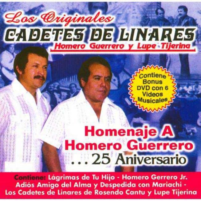Homenaje A Homero Guerrero... 25 Aniversario (includes Dvd)