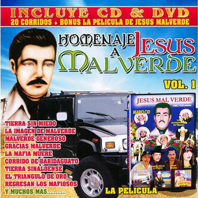 Homenaje A Jesus Malvrrde, Vol.1 (includes Dvd)
