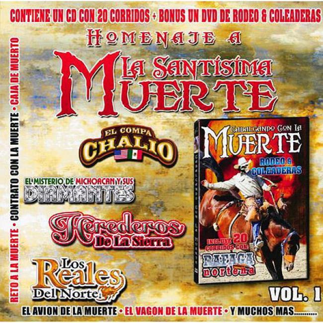 Homenaje A La Santisima Muerte, Vol.1 (includes Dvd)