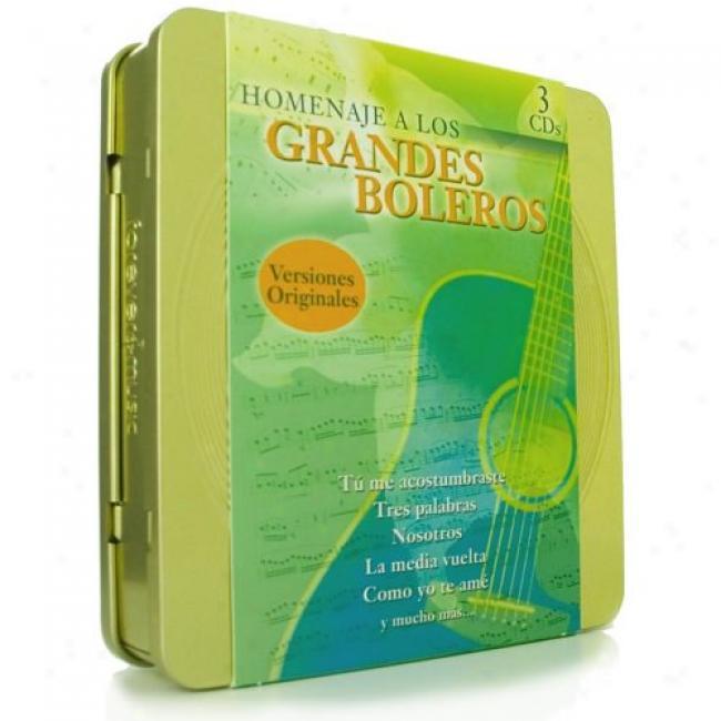 Homenaje A Los Grandes Boleros (3 Disc Box Set)