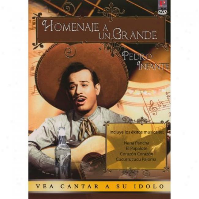 Homenaje A Un Grandr (music Dvd) (amaray Case) (remaster)
