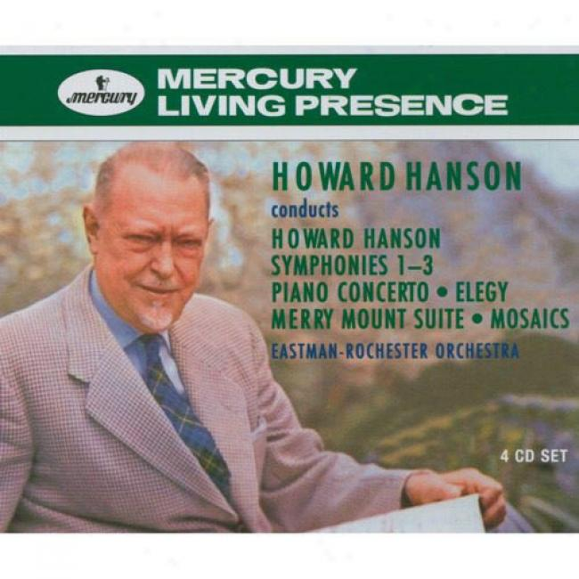 Howard Hanson Conducts Howard Hanson (4 Disc Box Set)