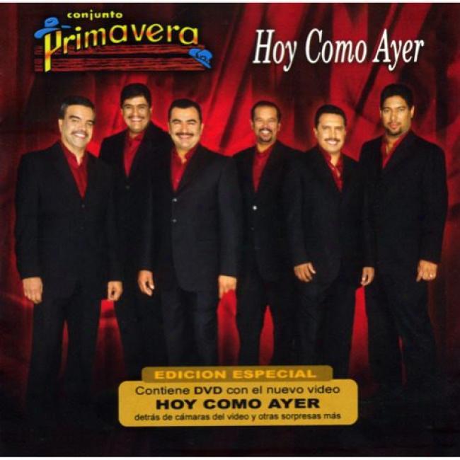 Hoy Como Ayer (special Edition) (includes Dvd)