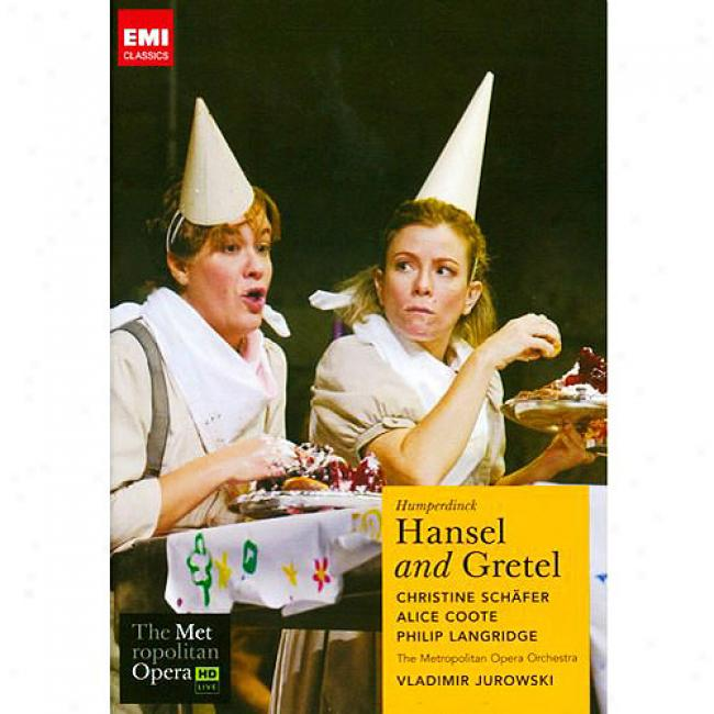 Huperdinck: Hansel And Gretel (music Dvd) (amaray Case)