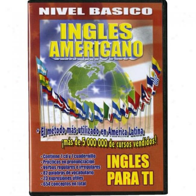 Ingles Para Ti: Nivel Basico (music Dvd) (amaray Case)