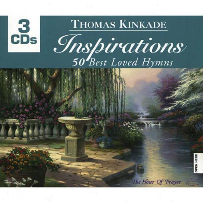 Inspirations - 50 Best Loved Hymns (3cd) (digi-pak)