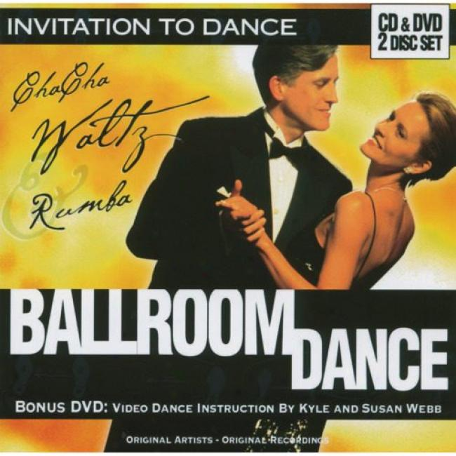 Invitation To Dance: Ballroom Dance (includes Dvd)