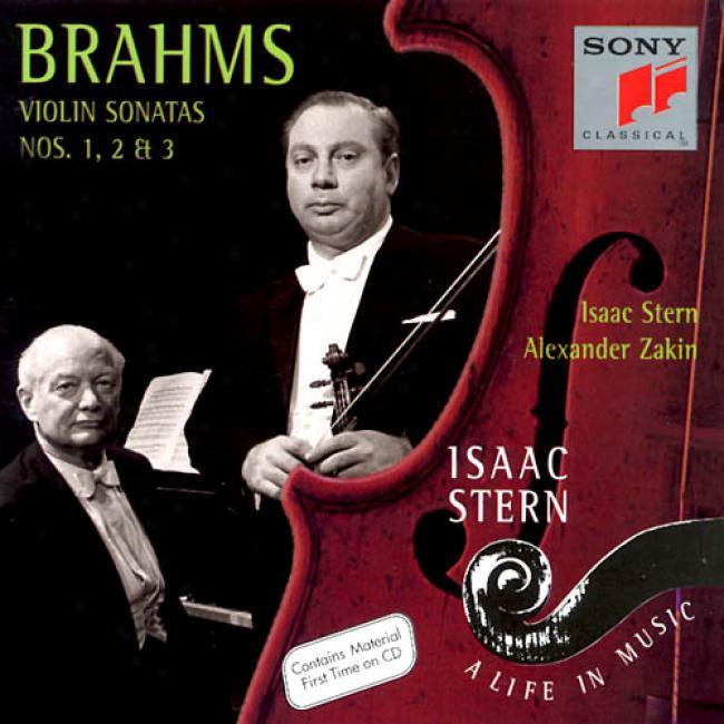 Isaac Stern - A Life In Music - Brahms: Violin Sonatas