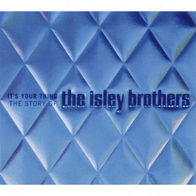 It's Your Event: The Story Of The Isley Brotherw (3cd) (digi-pak) (cd Slipcase)