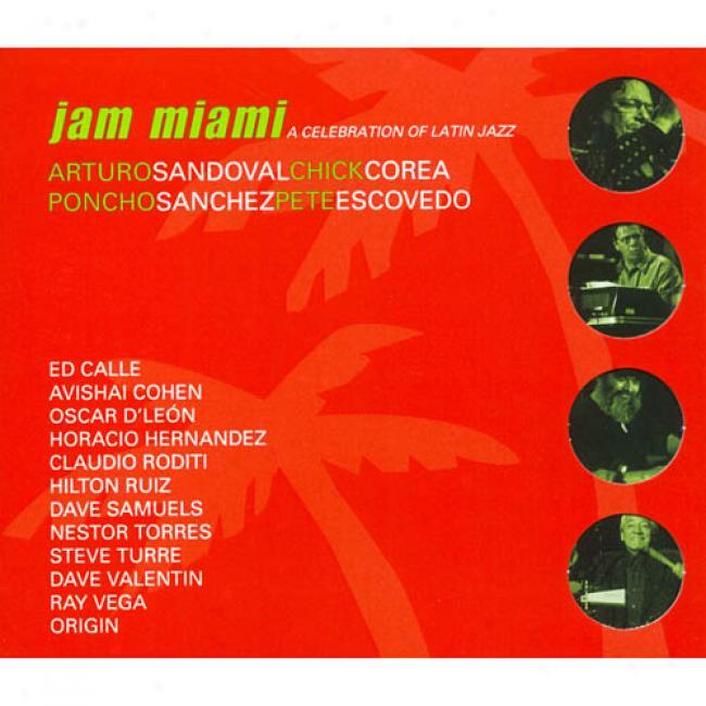 Jam Miami: A Celebration Of Language of ancient Rome Jazz (cd Slipcase)