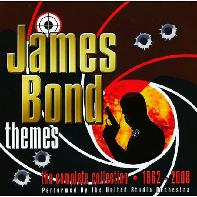 James Bond Themes: The Complete Collection - 1962-2008 (2cd)