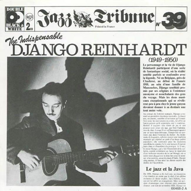Jazz Tribune No.39: The Indespensable Django Reinhardt (1949-1950) (2cd)