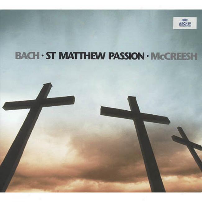 Johann Sebastian Bach: St. Matthew Passion (2cd) (digi-pak)
