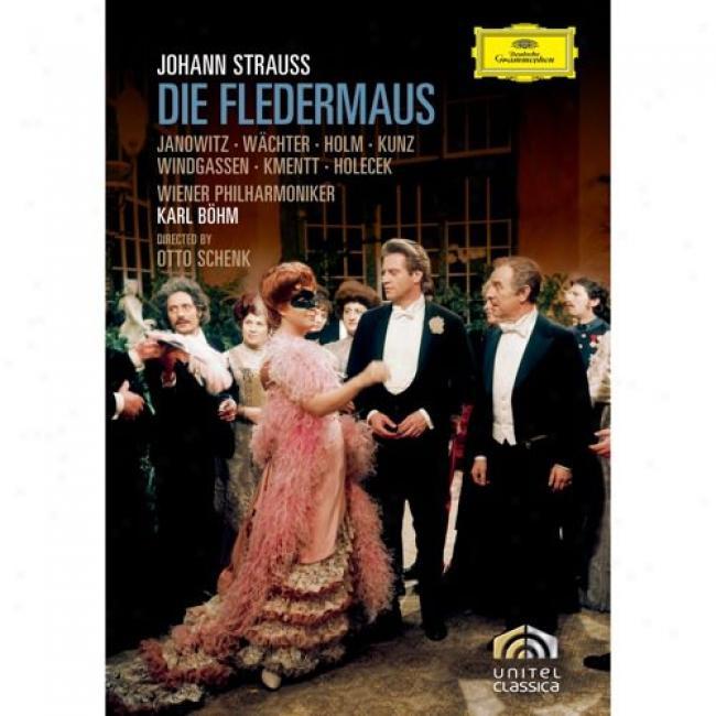 Johann Straus:s Die Fledermaus (music Dvd) (amaray Case)