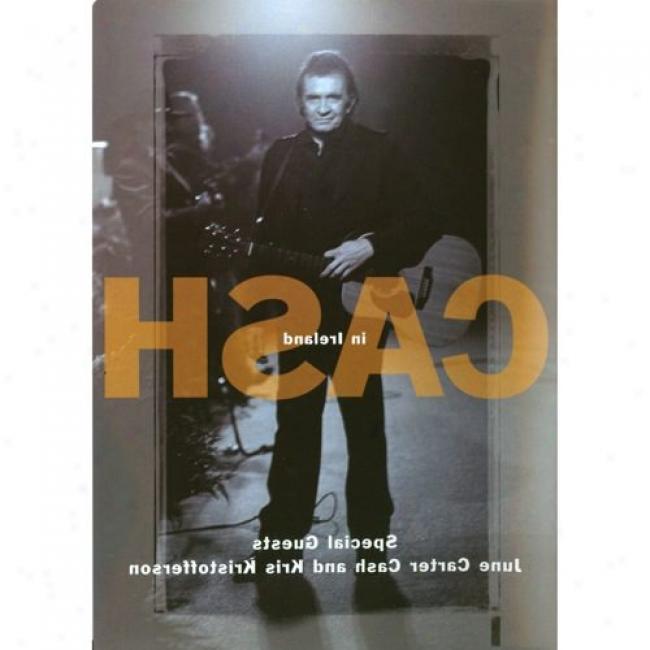 Johnny Cash In Ireland (music Dvd) (amaray Case)