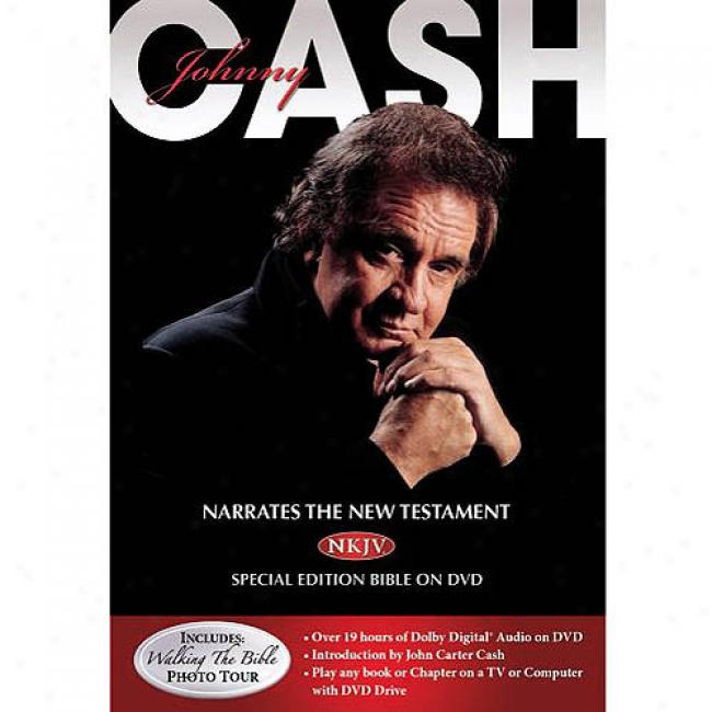 Johnny Cash Narrates The New Testament (music Dvd) (with Exclusive Download) (amaray Case)