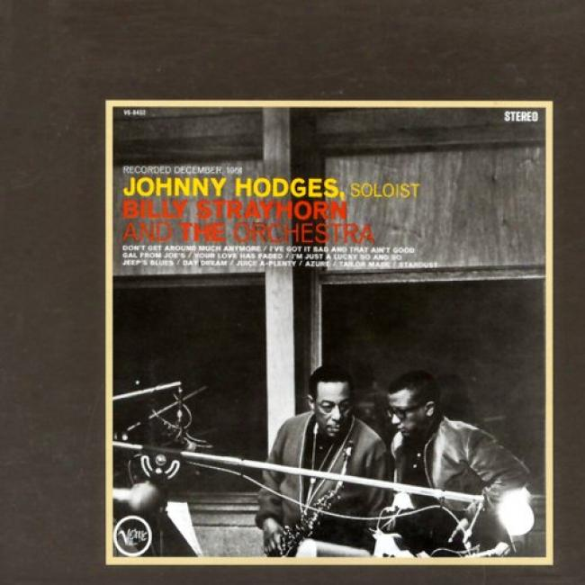 Johnny Hodges With Billy Strayhorn & The Orchestra (digi-pak)