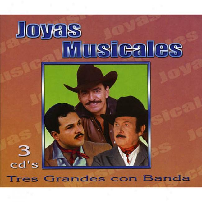 Joyas Musicales: Tres Grandes Con Banda (remaster)