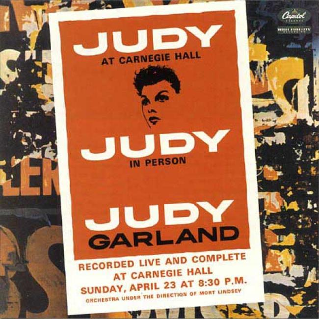 Judy At Carnegie Hall (40th Anniversary) (2cd) (remaster)