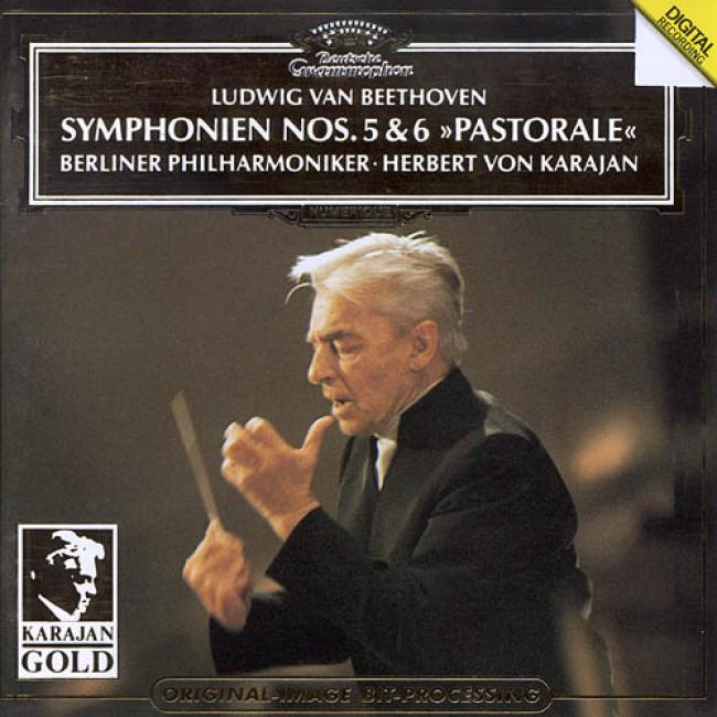 Karajan Gold - Beethoven:symphonien Nos.5 And 6/berlin Po
