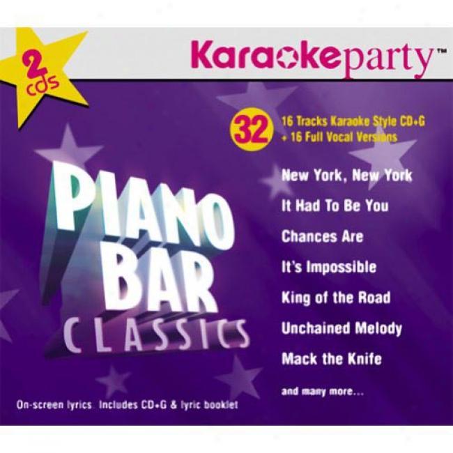 Karaoke Party: Piano Bar Classics (2cd) (digi-pak)