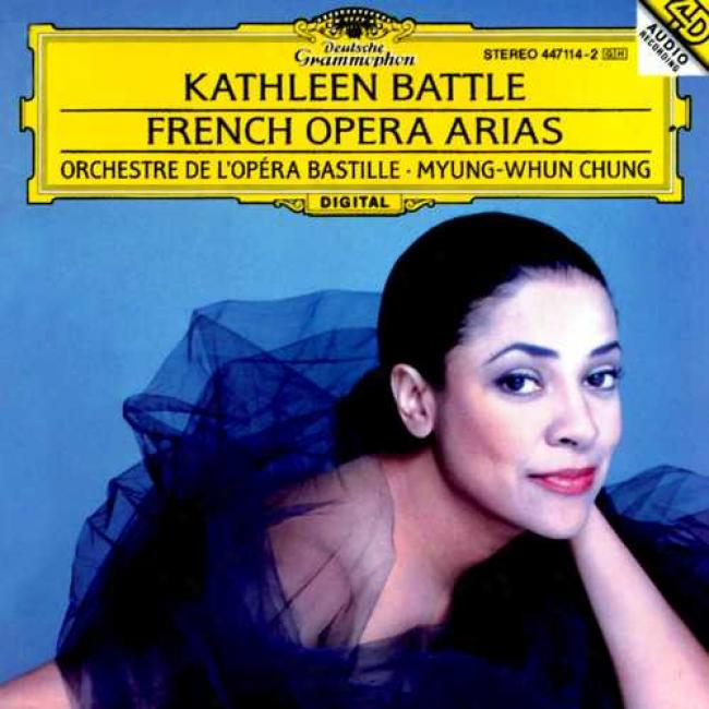 Kathleen Battle: Franzosische Opernarien Orchestre De L'opera Bastille