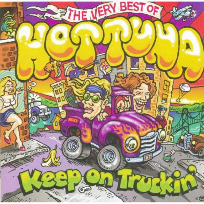 Keep On Truckin': The Very Best Of Hot Tuna (cd Slipcase)