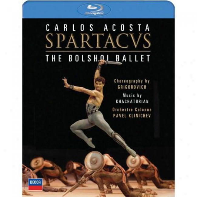 Khachaturian: Spartacus (music Bly-ray) (br Amaray Case)