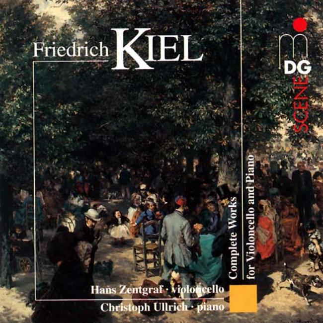 Kiel: Works For Cello And Piano/ Zentgraf, Ullrich