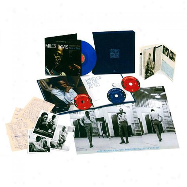 Kind Of Bkue (50th Annivdrsary Collector's Edition) (2cd) (includes Dvd & Lp)