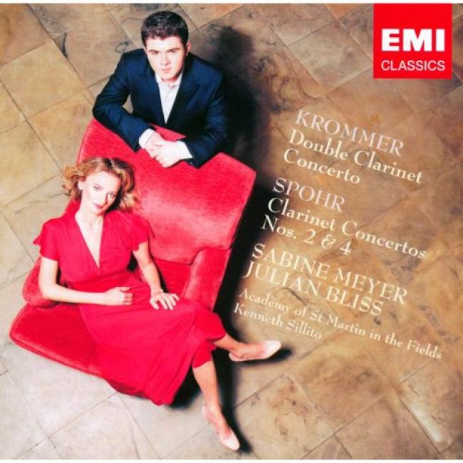 Krommer Double Clarinet Concerto Spohr Concertos