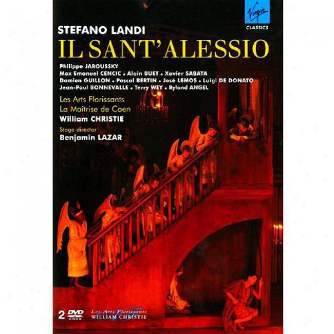 Landi:il Sant' Alessio (2 Discs Music Dvd) (amaray Case)