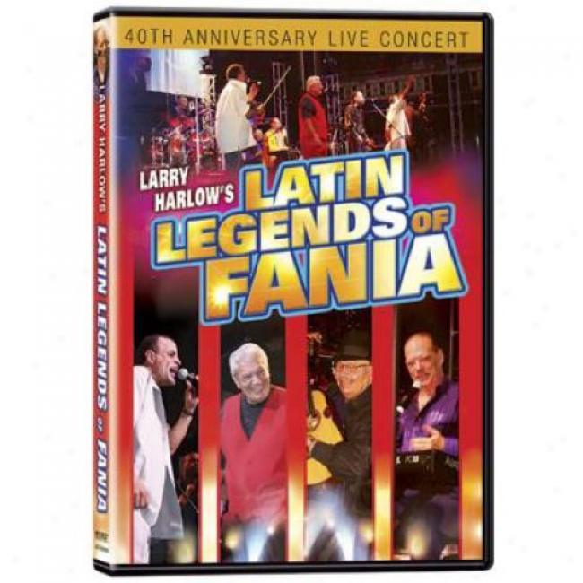 Larry Harlow's Latin Legends Of Fania (music Dvd) (amaray Case)