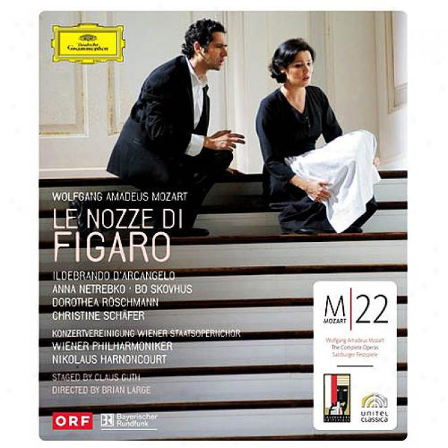 Le Nozze Di Figaro (music Blu-ray) (bd Amaray Case)