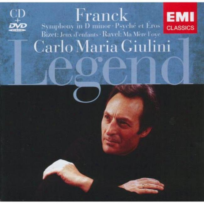 Legend: Franck/bizet/ravel (includes Dvd) (remaster)