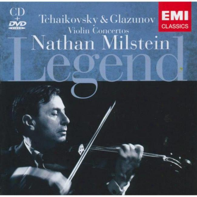 Legend: Tchaikovsky & Glazunov (includes Dvd) (remaster)