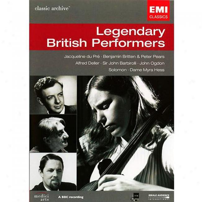 Legendary British Performers (music Dvd) (amaray Case)