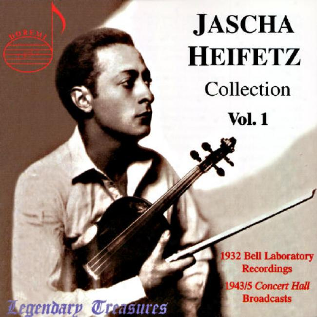 Legendary Treasures: Jascha Heifetz Collection Vol.1