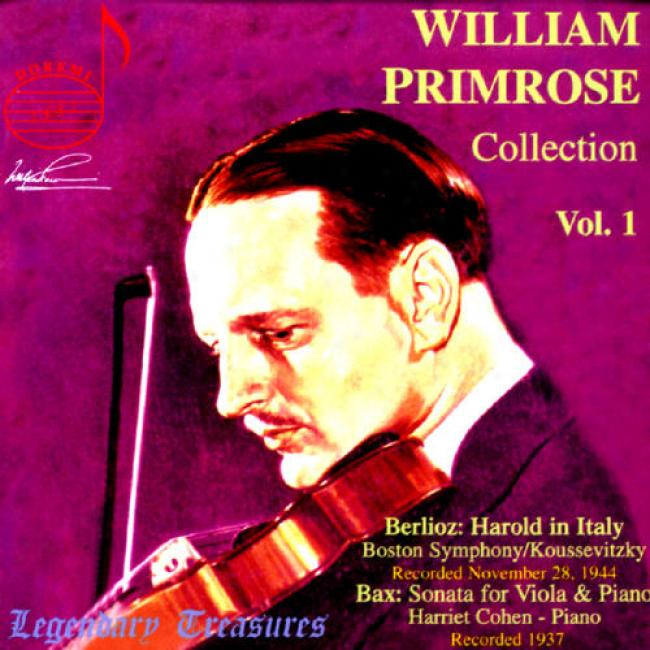 Legendary Treasures: William Primrose Collection Vol.1