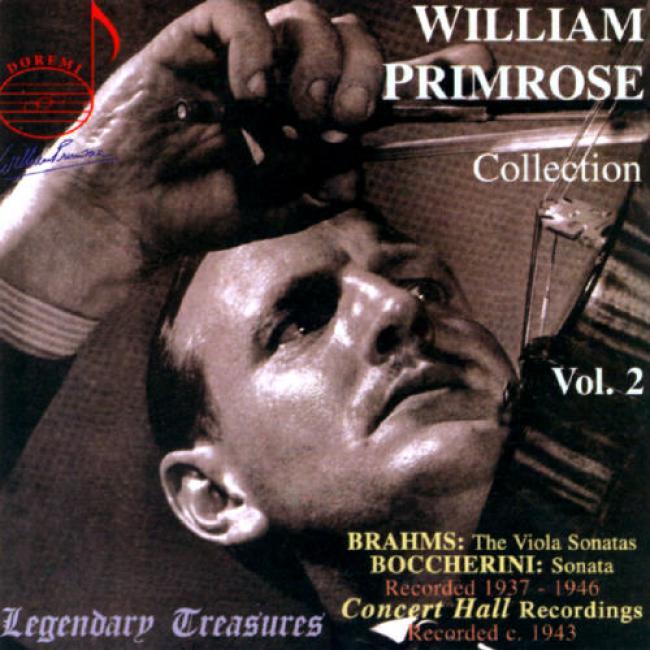 Legendary Treasures: William Primrose Collection Vol.2