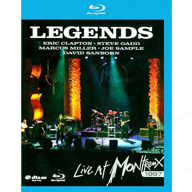 Legends: Live At Montreaux 1997 (music Blu-ray) (bd Amaray Case)